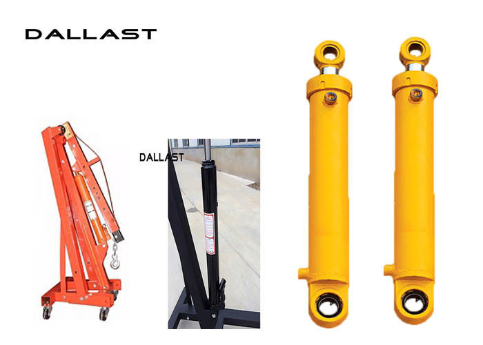 Chromed Hydraulic Hoist Cylinder ertical Mast Lifts Stroke 800 mm