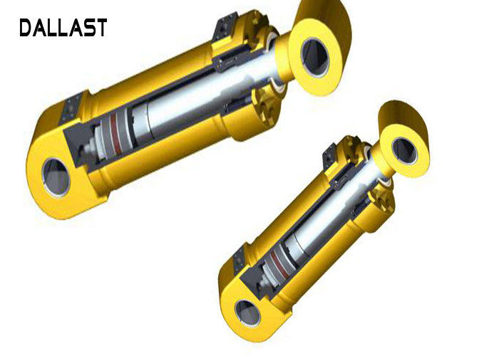 Weld on Industrial Hydraulic Cylinder Piston Design Double Acting Industrial Equipment