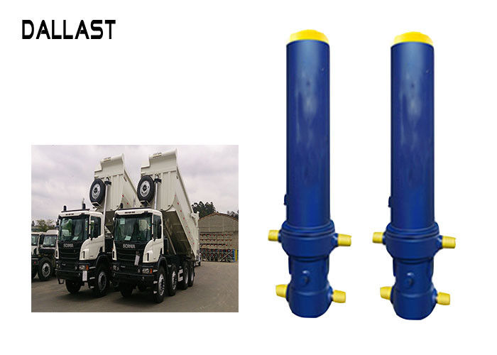 Fe FC Front End Multi Stage Telescopic Hydraulic Cylinder For Dump Truck / Trailer / Tipper