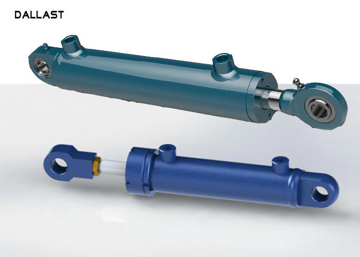 10500mm Stroke Single Acting Telescopic Cylinder Hydraulic Hoist For Engineering Machinery